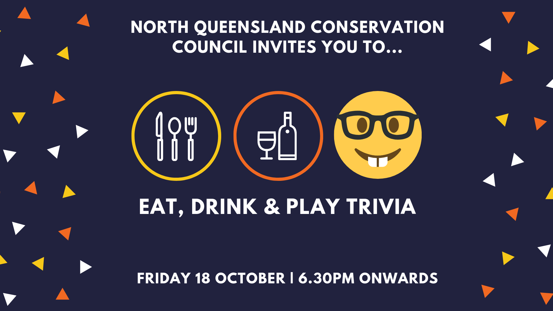 NQCC invites you to Eat, Drink and Play Trivia!