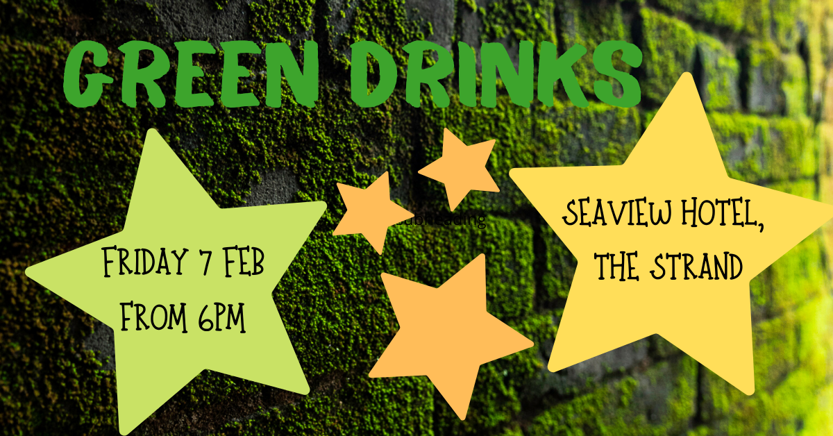 Green Drinks flyer