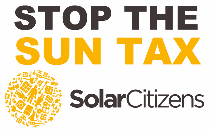 Stop the Sun Tax
