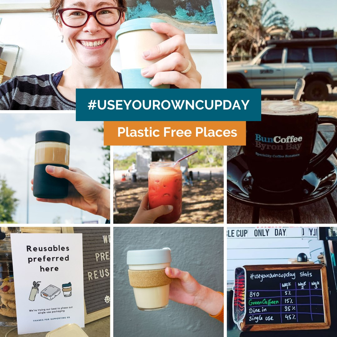 Use your own cup day poster