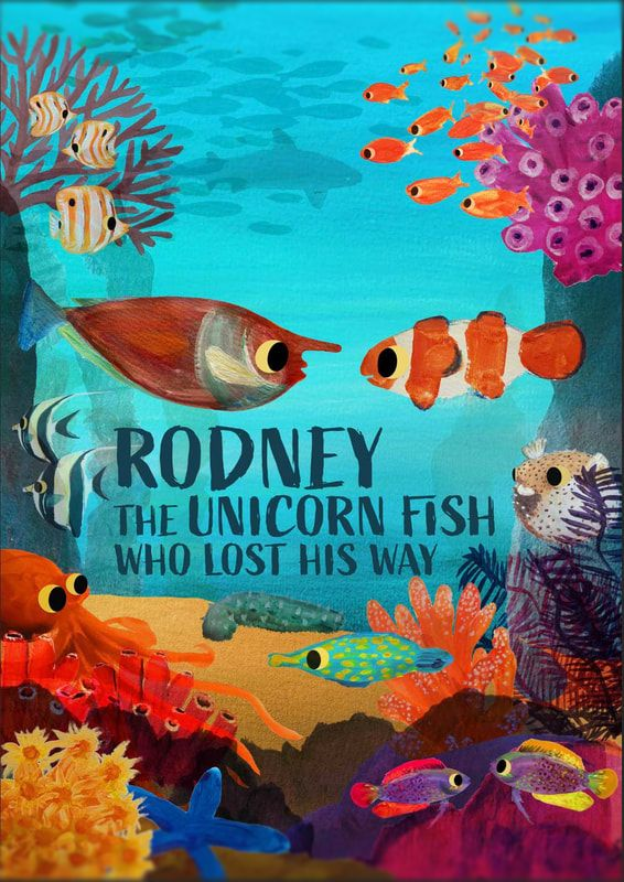 Rodney the Unicorn Fish Who Lost His Way book cover