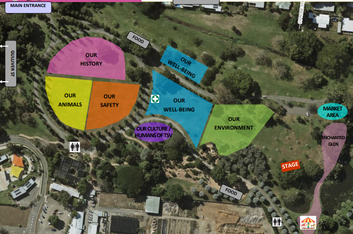 Our Townsville map