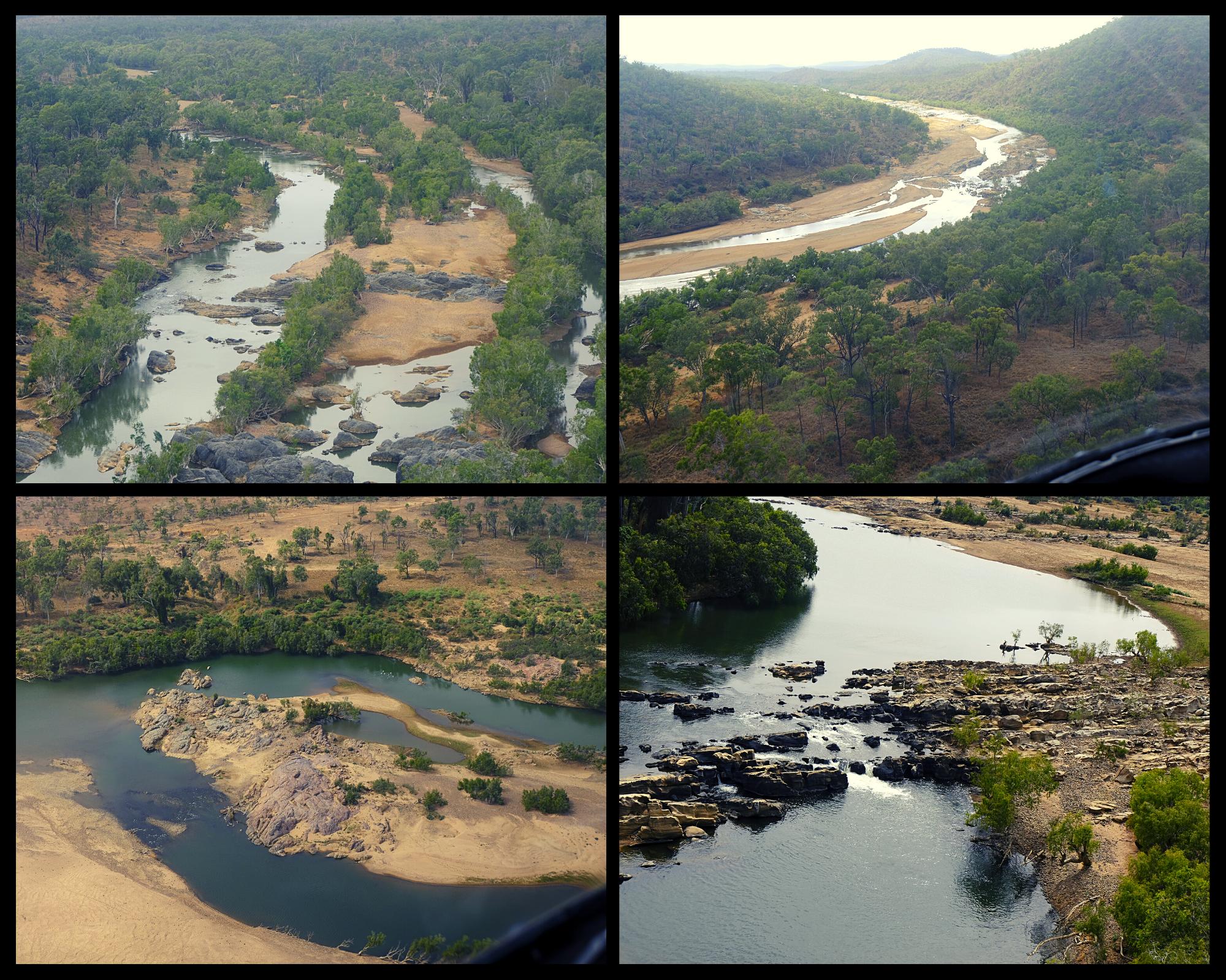 Burdekin River from above