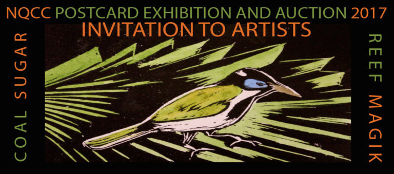 Postcard art Invitation