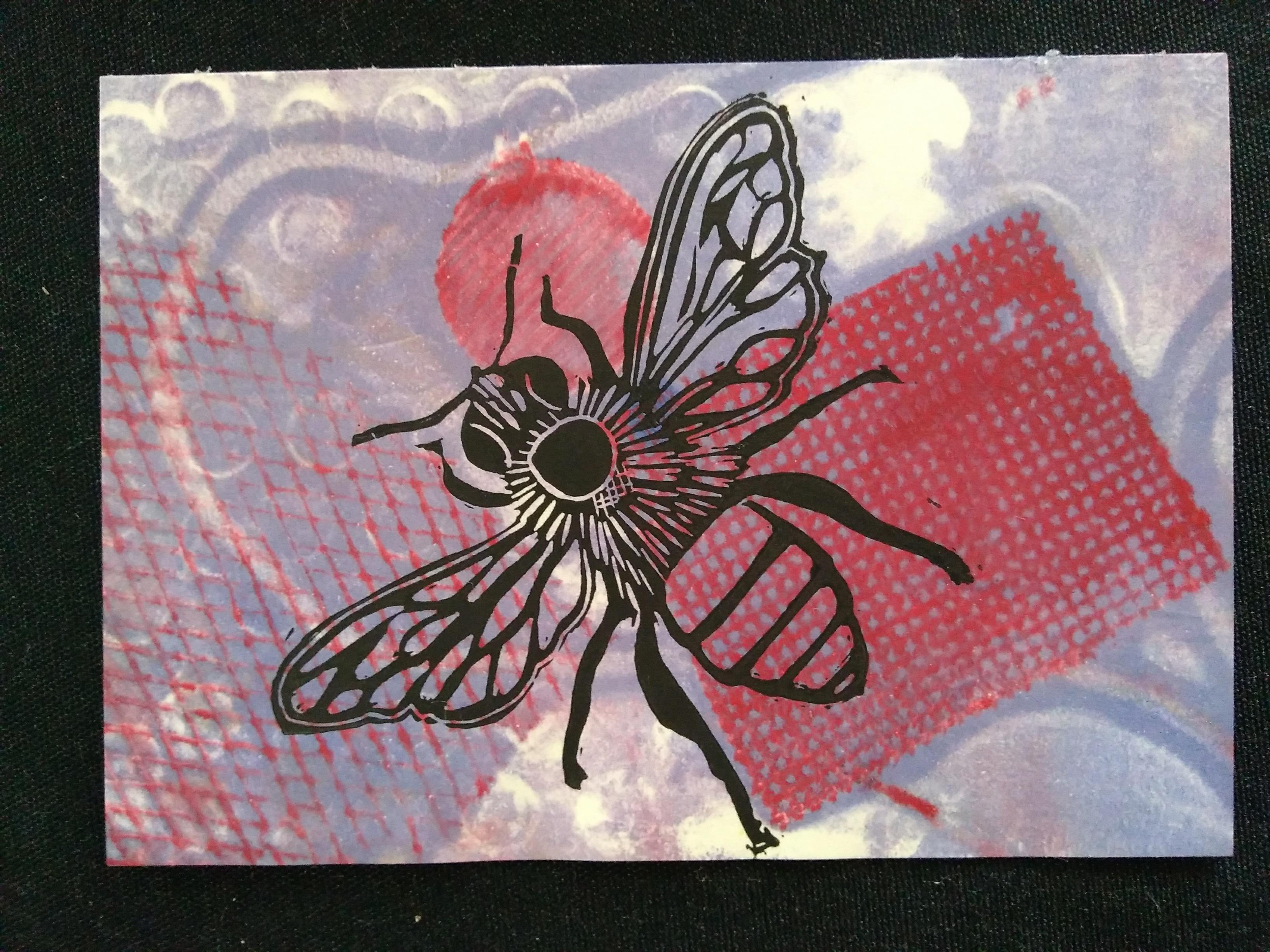 Printed bee