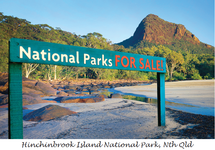 National Parks for Sale postcard