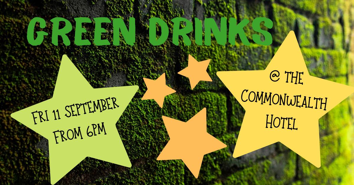 Green Drinks banner