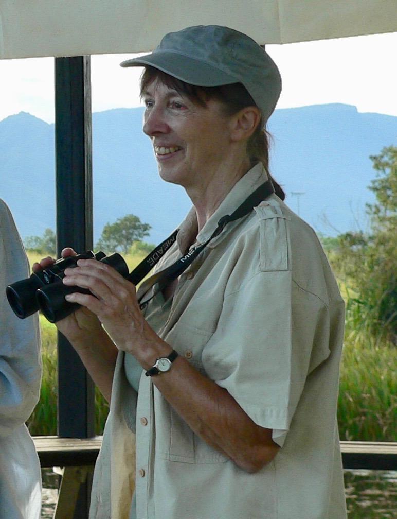 Liz Downes at TYTO Wetlands