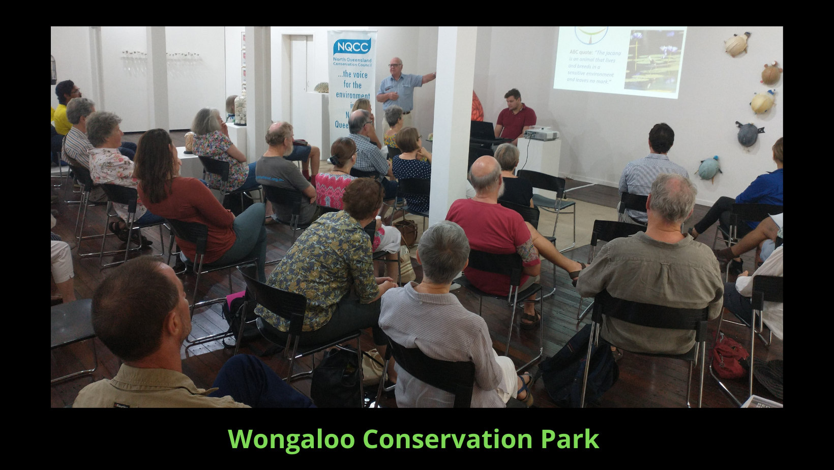 Mark Stoneman from Wongaloo Wetlands