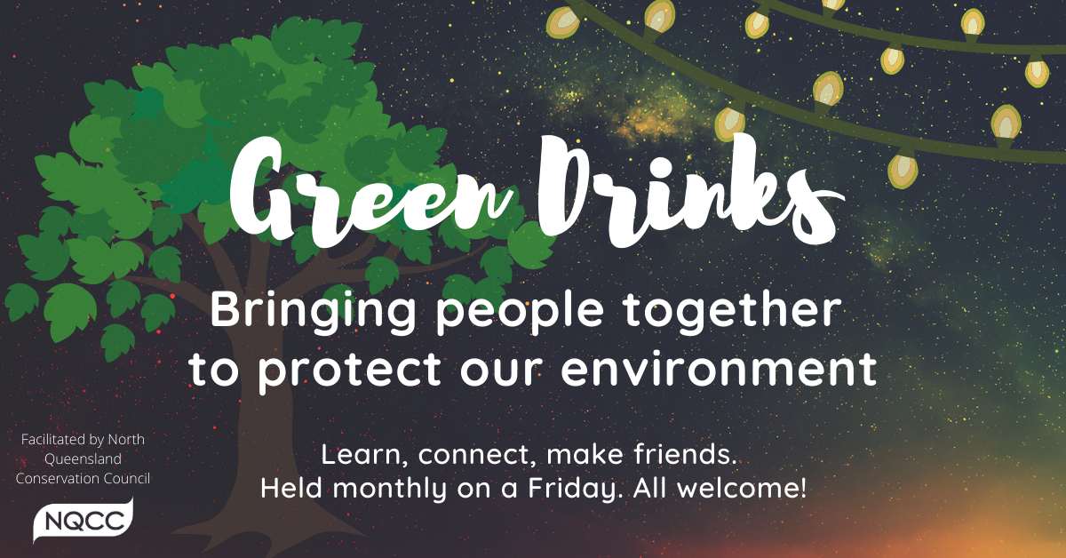 Green Drinks banner