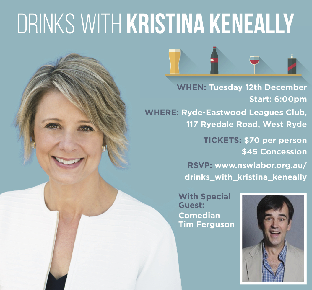 Drinks with Kristina event details image