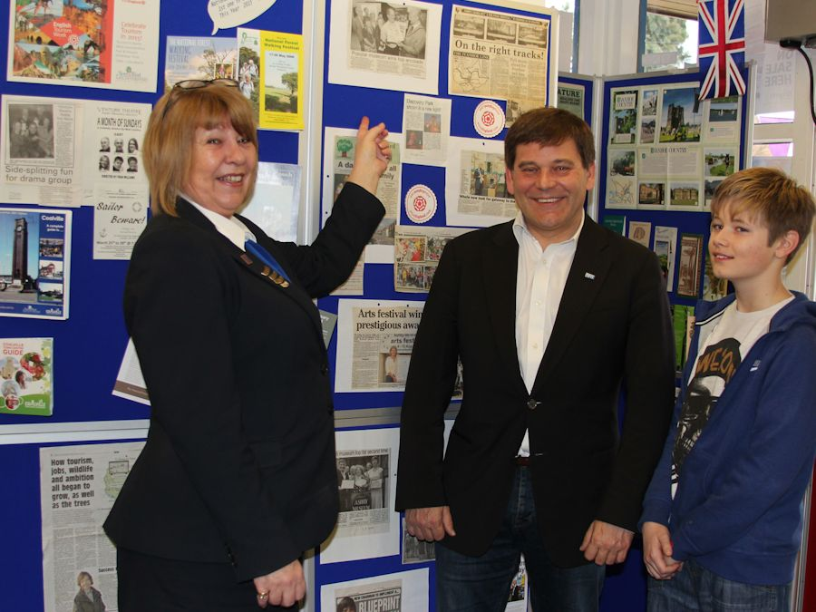 Andrew Bridgen MP shows support for English Tourism Week