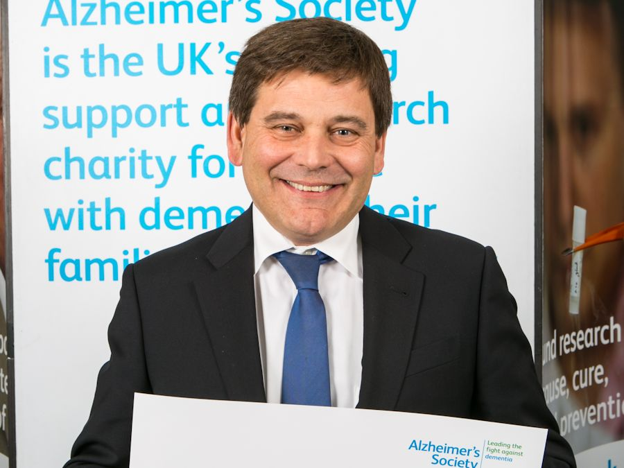 Andrew Bridgen MP supports Alzheimer's Society's general election campaign