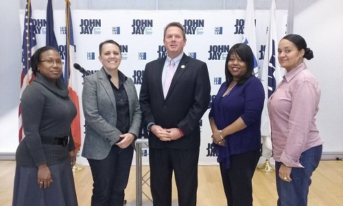Alliance members with Eric Hesse, Director of the NY State Division of Veterans Affairs