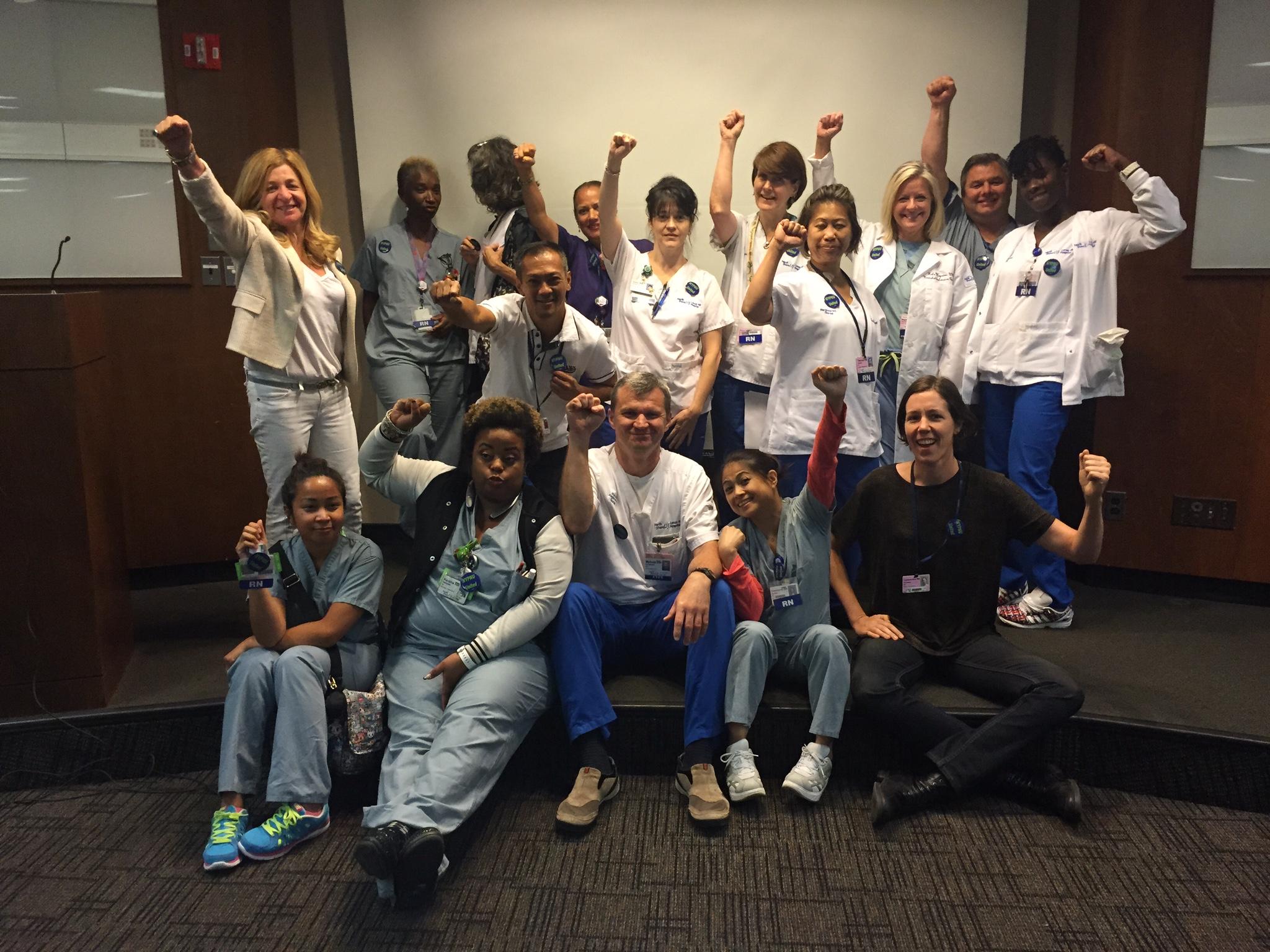Nurses' Power! Member Meetings: Deciding 2018 Contract Proposals
