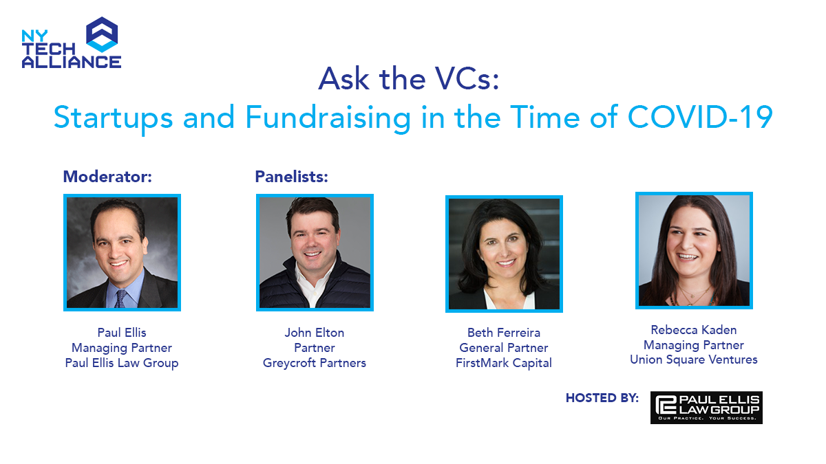 NYTA Ask the VCs Virtual Event