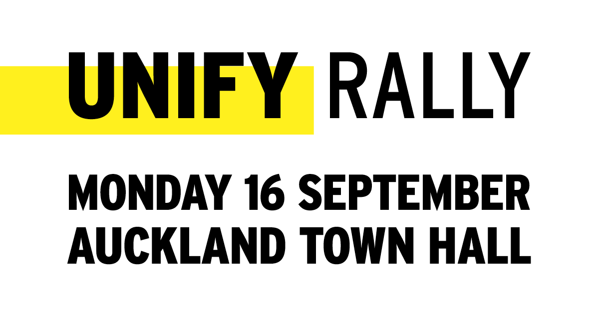 Unify Rally- Get Involved - #HealthNotHandcuffs