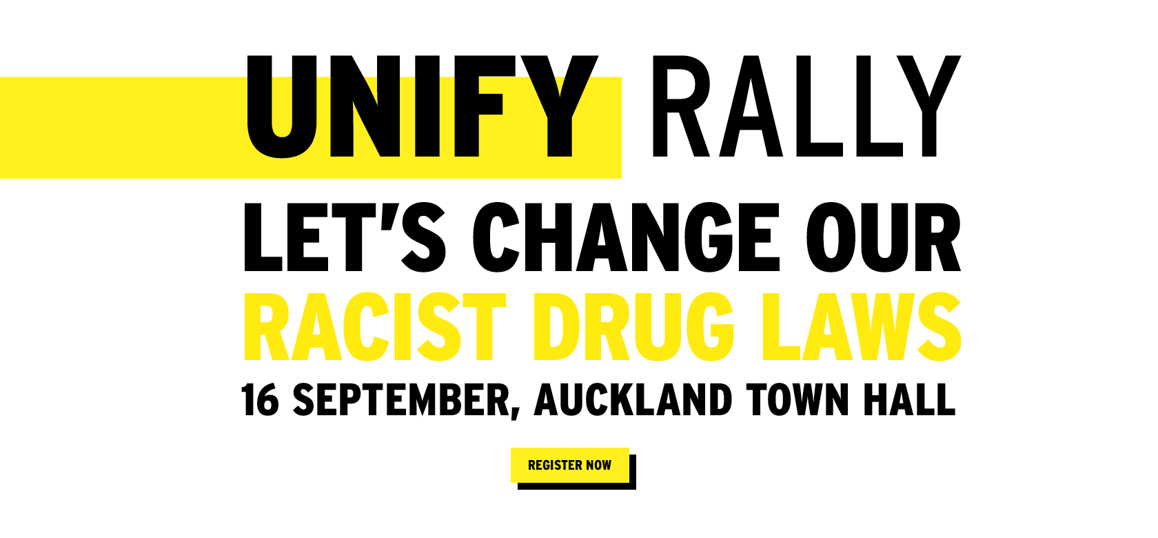 Unify Rally Banner
