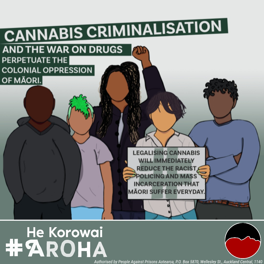Cannabis Criminalisation and the War on Drugs perpetuate colonial oppression of Maori