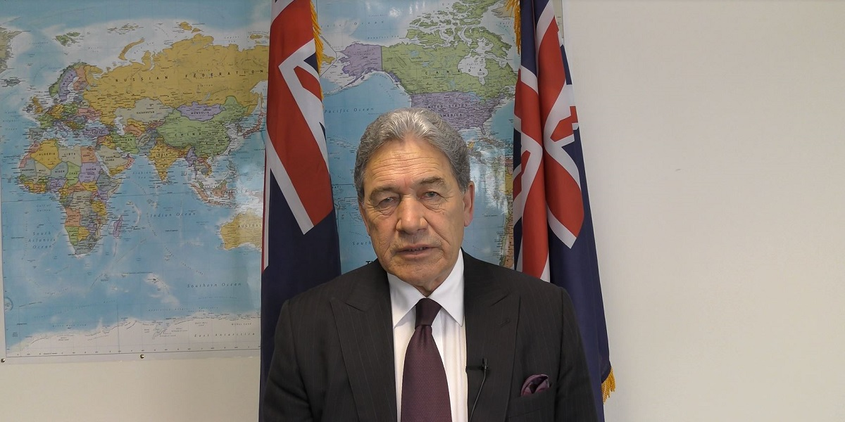 One Year in Government: Winston Peters