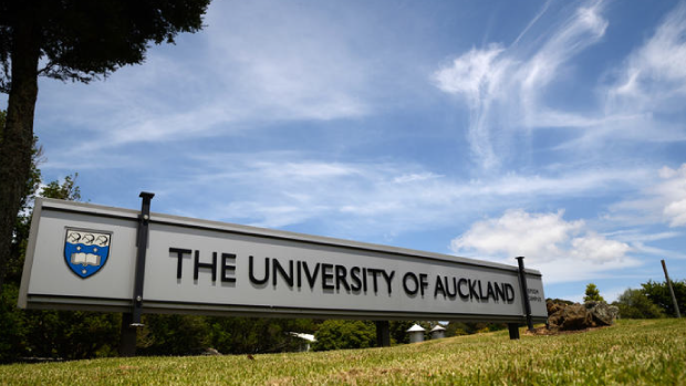 University of Auckland sign