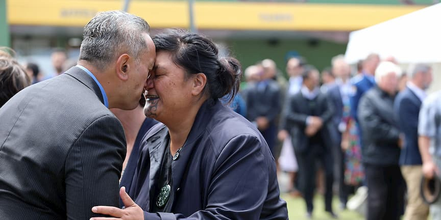 Nanaia Mahuta was one of the Labour Ministers who traveled to Rātana for the celebrations.