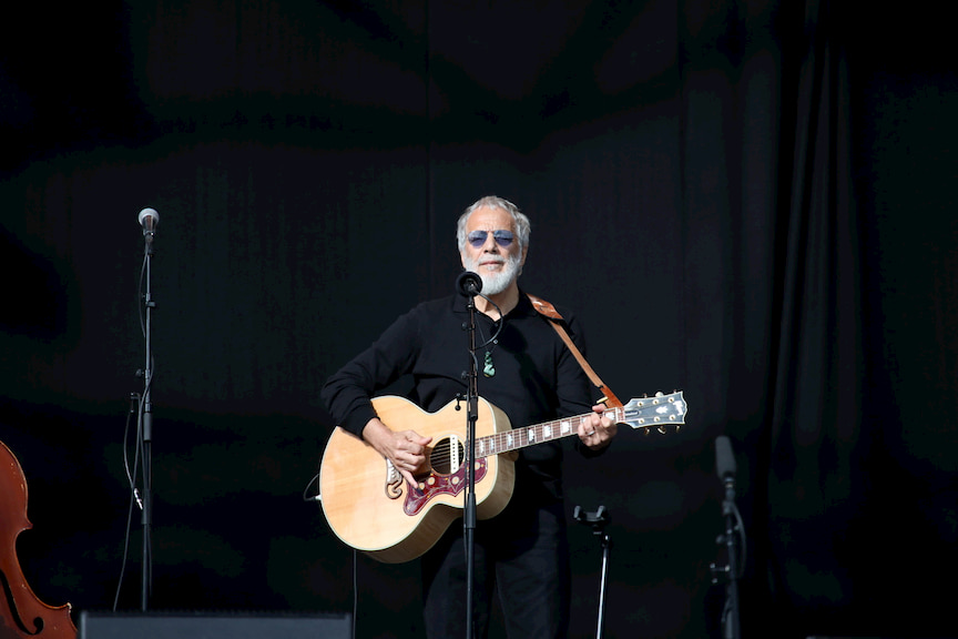 International singer-songwriter Yusuf Islam/Cat Stevens was among the artists who performed at the service.