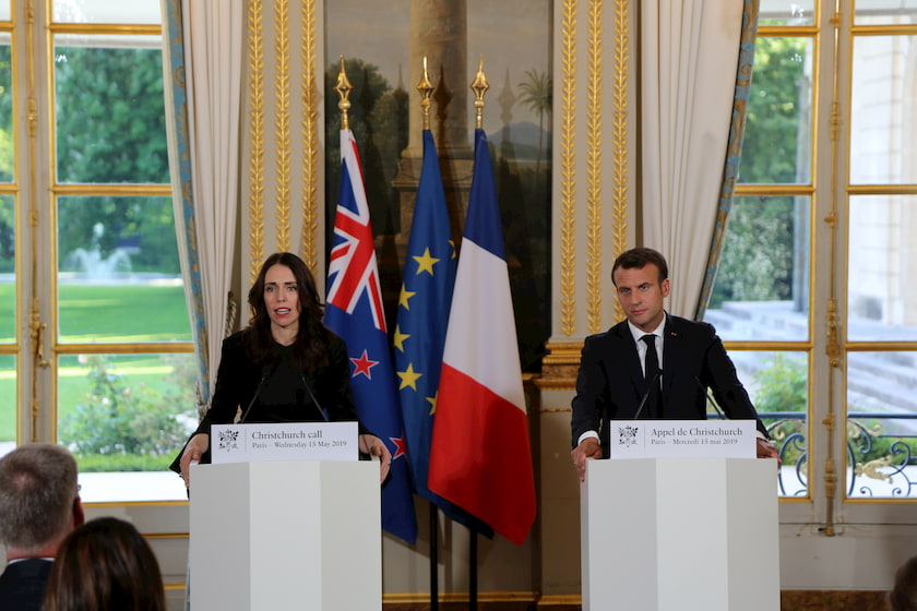 The Prime Minister co-chaired the Christchurch Call with French President Emmanuel Macron