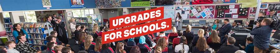 Upgrades for schools