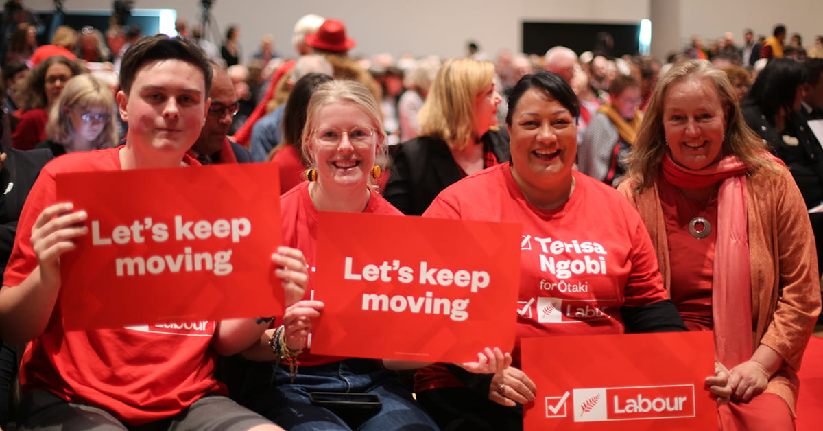 Let's keep moving – Labour Congress 2020