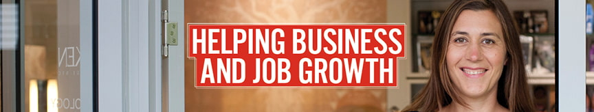 Helping business and job growth