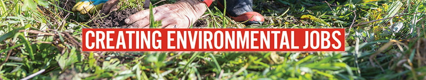 Creating environmental jobs