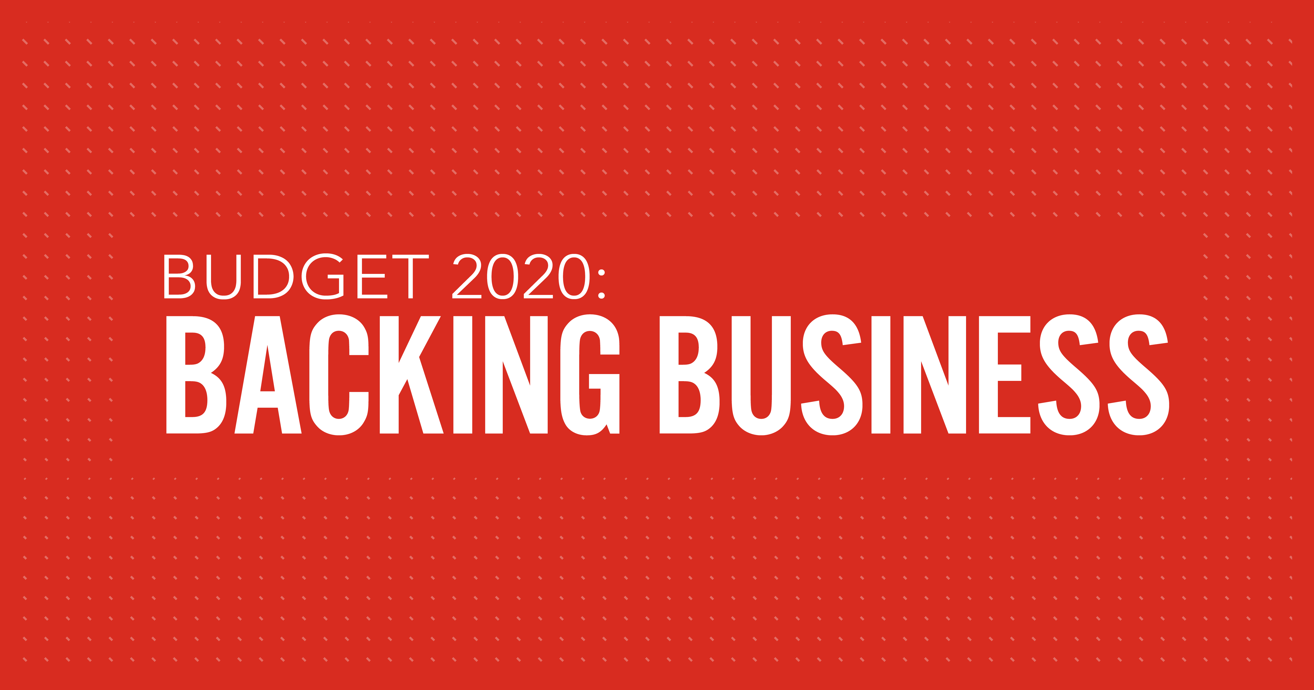 How Budget 2020 is backing businesses thumbnail