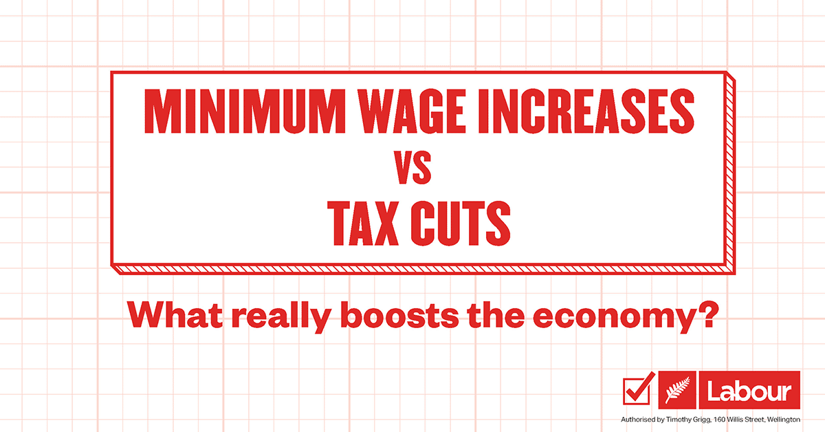 Minimum wage increases vs. tax cuts – what really boosts the economy? thumbnail