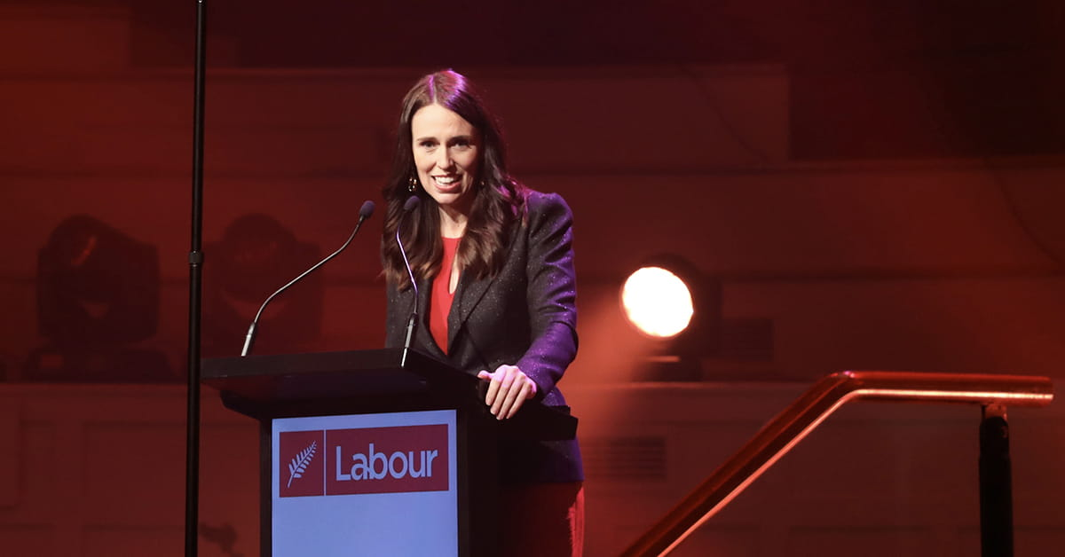 Jacinda Ardern's Wellington Rally Speech  thumbnail