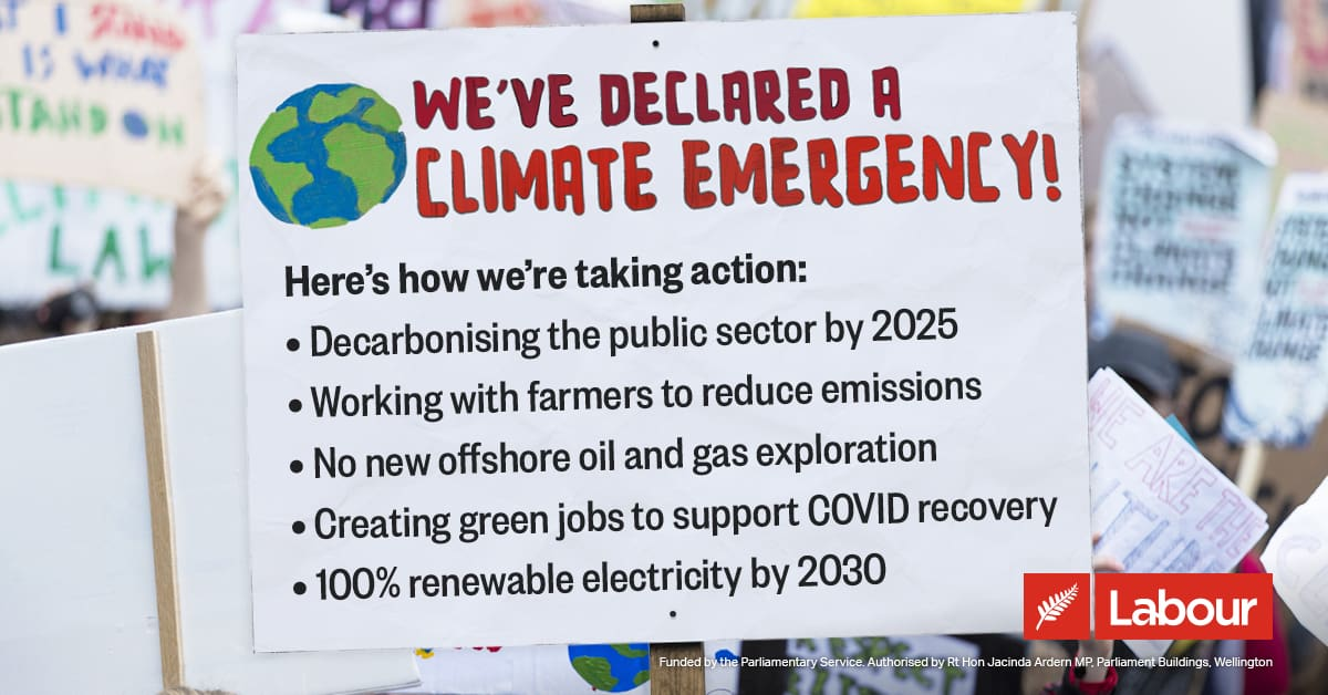 SHARE: New Zealand declares climate emergency