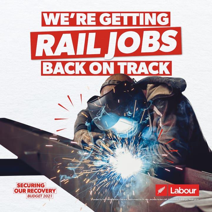 We're getting rail jobs back on track