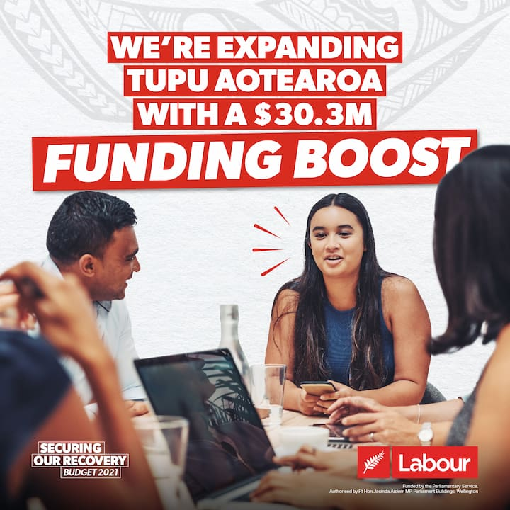 We're expanding Tupu Aotearoa with a $30.3m funding boost
