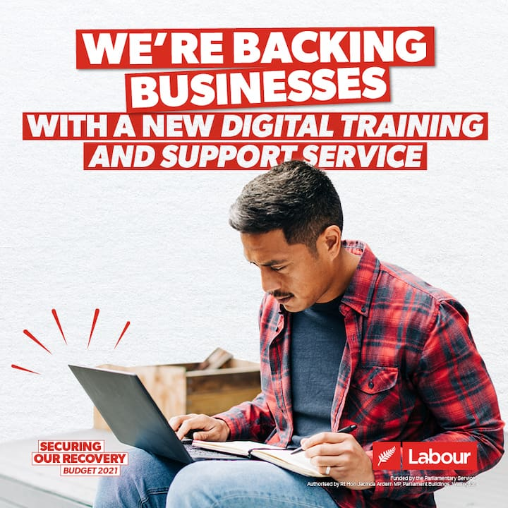 We're backing business with a new digital training and support service