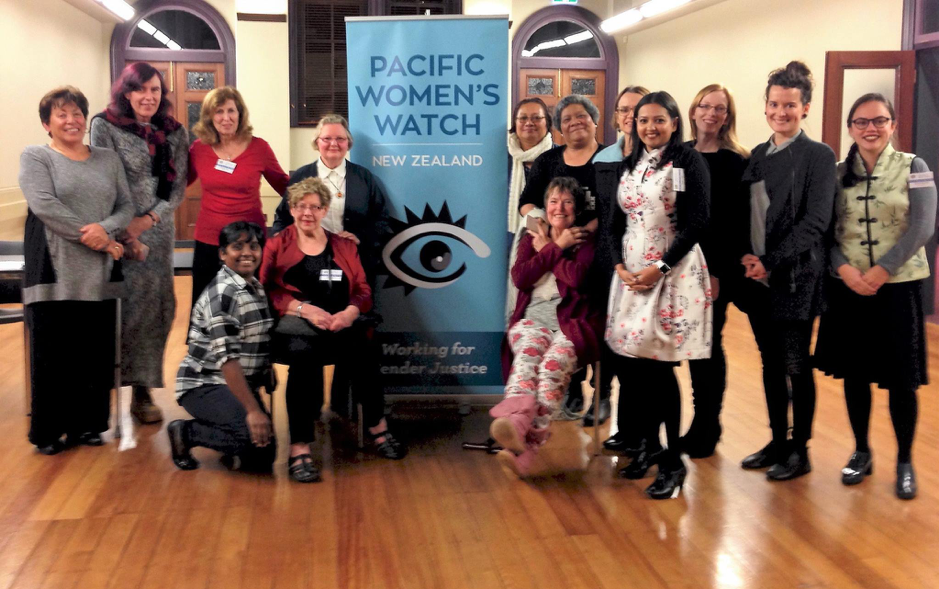 Pacific Woman's Watch group photo