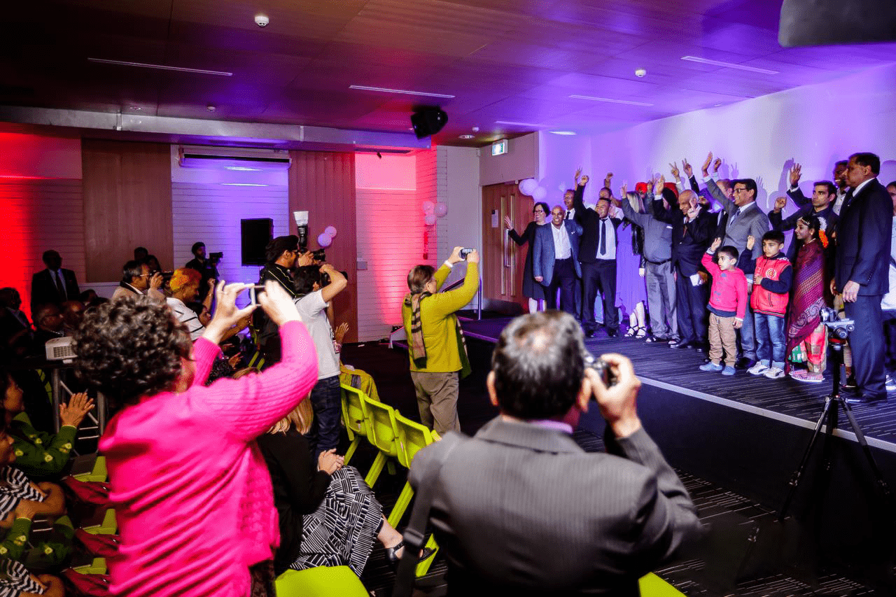 Hundreds Support NZ People's Party Launch