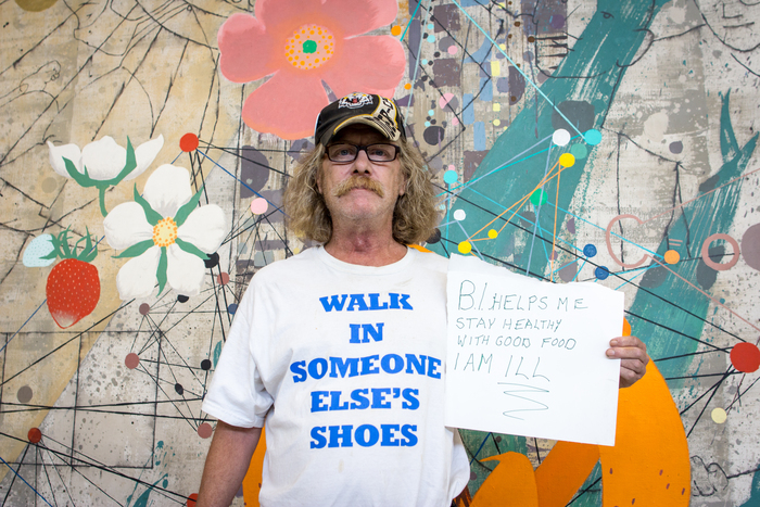 photo of Jim from Humans of Basic Income photo series