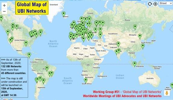 Global Map of UBI Networks
