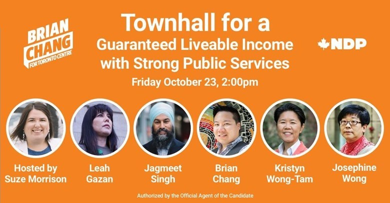 NDP Townhall Poster
