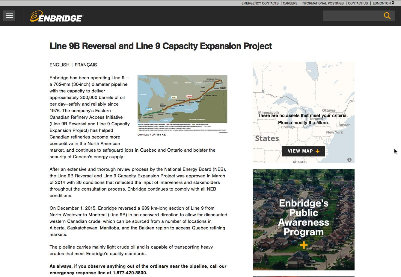 The Problem with Enbridge Line 5 pipelines through the Great Lakes