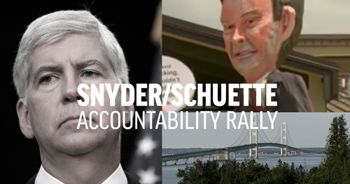Snyder-Schuette Accountability Rally