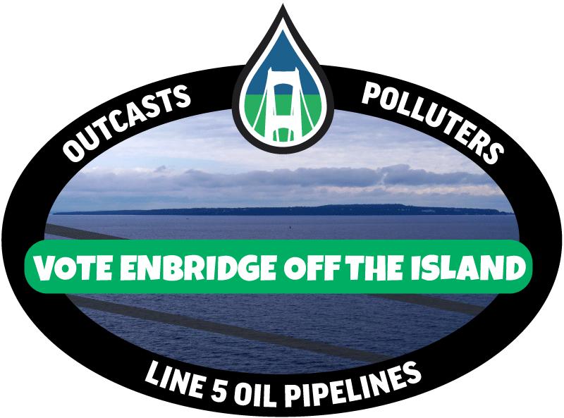 Vote Enbridge Off the Island