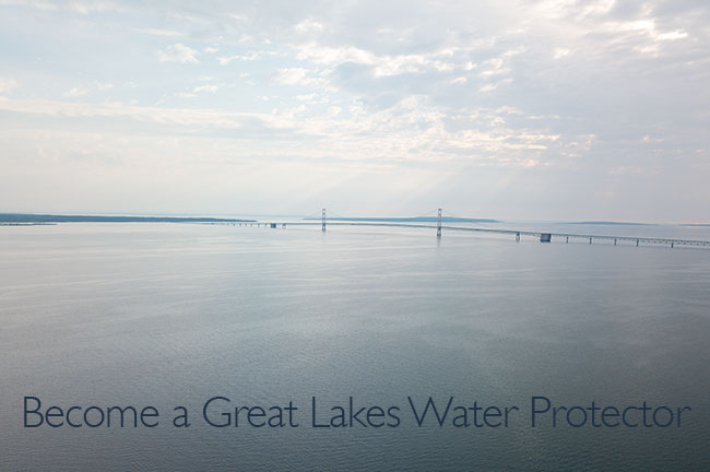 Become a Great Lakes Water Protector