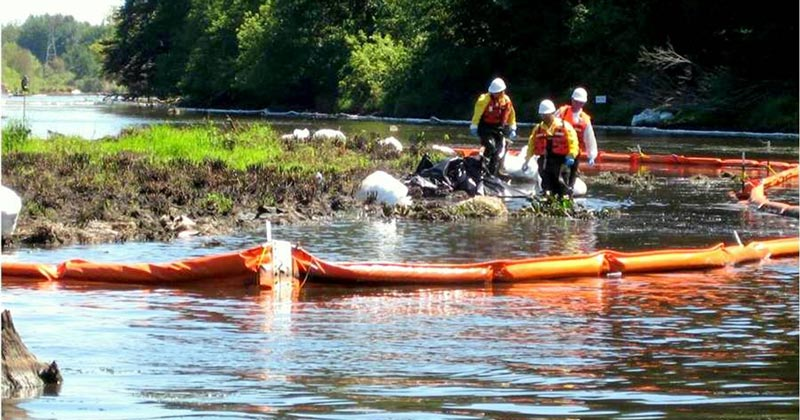 Enbridge cleanup of the Line 6B Kalamazoo River Disaster