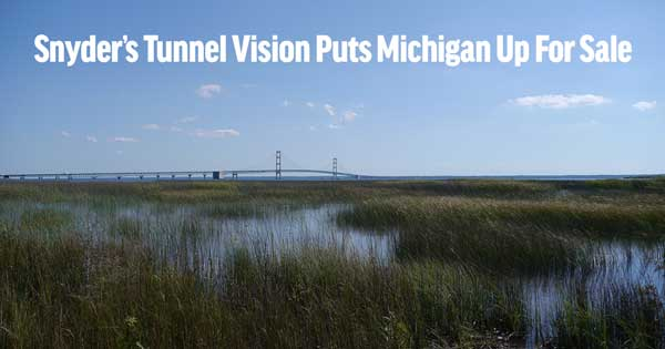 Tunnel Vision Sells Off Michigan